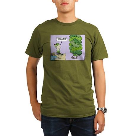 WTD Holiday - Megapickles Organic Men's T-Shirt (d