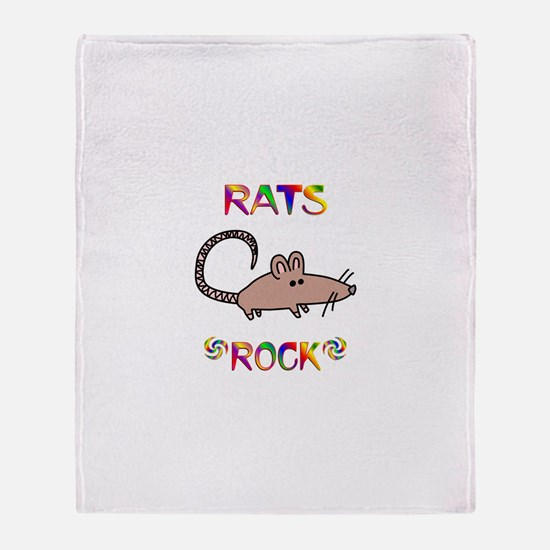 Rat Throw Blanket