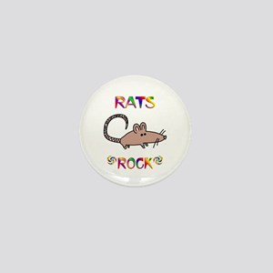 Rat Mini Button