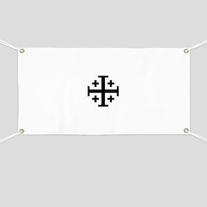Jerusalem cross Banner