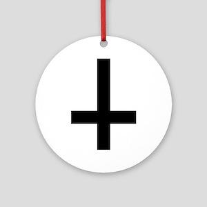 Cross antichrist Ornament (Round)