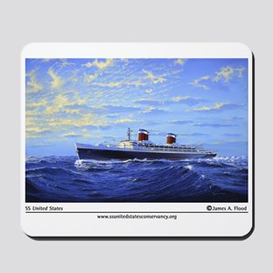 """New! """"SS United States"""" by Ja Mousepad"""