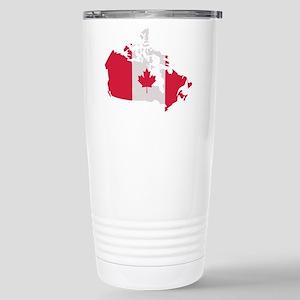 Canada map flag Stainless Steel Travel Mug