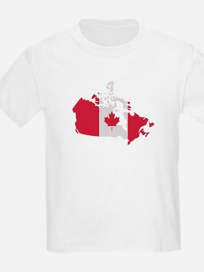 Canada map flag T-Shirt