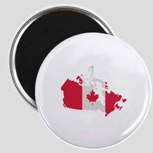 Canada map flag Magnet