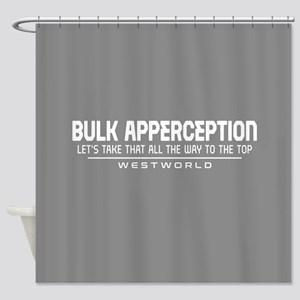 Westworld Bulk Apperception Shower Curtain