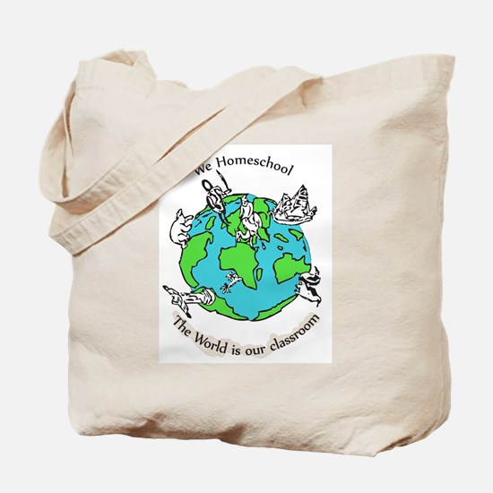 Funny Homeschooling Tote Bag
