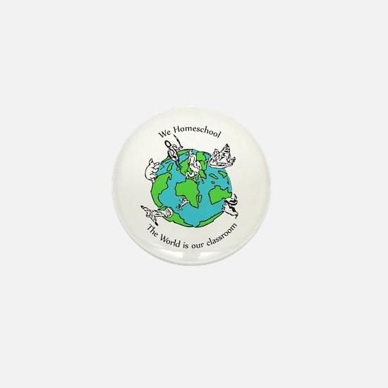 Cute Home school Mini Button (100 pack)