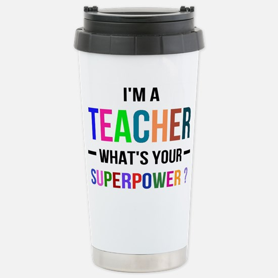 Cute Future teacher teach learn kids school education Travel Mug