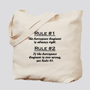 Aerospace Engineer Tote Bag