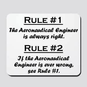 Aeronautical Engineer Mousepad