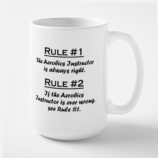 Aerobics Instructor Large Mug