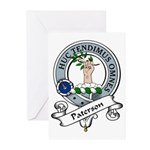 Paterson Clan Badge Greeting Cards (Pk of 10)