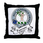 Paterson Clan Badge Throw Pillow