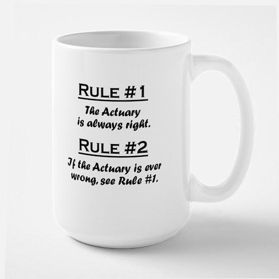 Actuary Large Mug