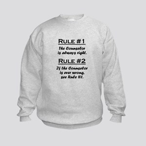 Counselor Kids Sweatshirt