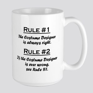 Costume Designer Large Mug