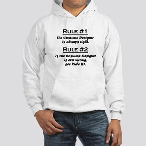 Costume Designer Hooded Sweatshirt