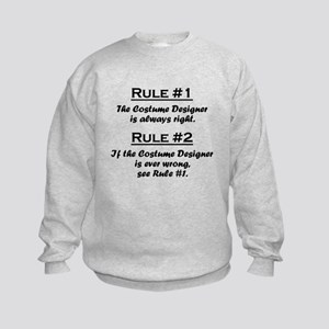 Costume Designer Kids Sweatshirt