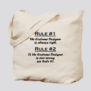 Costume Designer Tote Bag