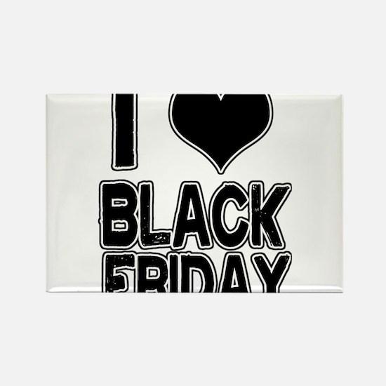 Love Black Friday Rectangle Magnet