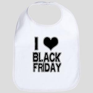 Love Black Friday Bib