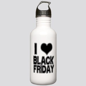 Love Black Friday Stainless Water Bottle 1.0L
