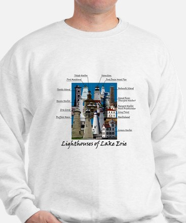Lighthouses Of Lake Erie Sweatshirt