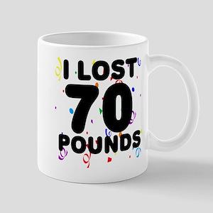 I Lost 70 Pounds! Mug