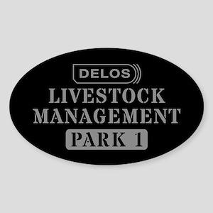Westworld Livestock Management Sticker