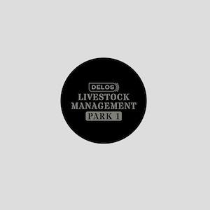 Westworld Livestock Management Mini Button
