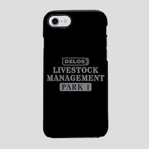 Westworld Livestock Management iPhone 7 Tough Case