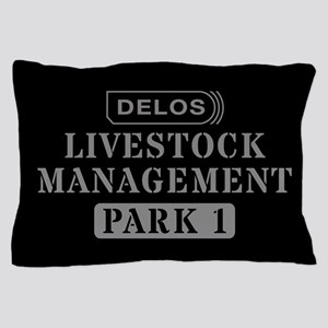Westworld Livestock Management Pillow Case