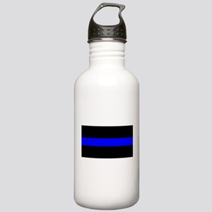 Thin Blue Line Police Stainless Water Bottle 1.0L