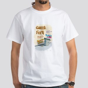 Greekfeeti White T-Shirt