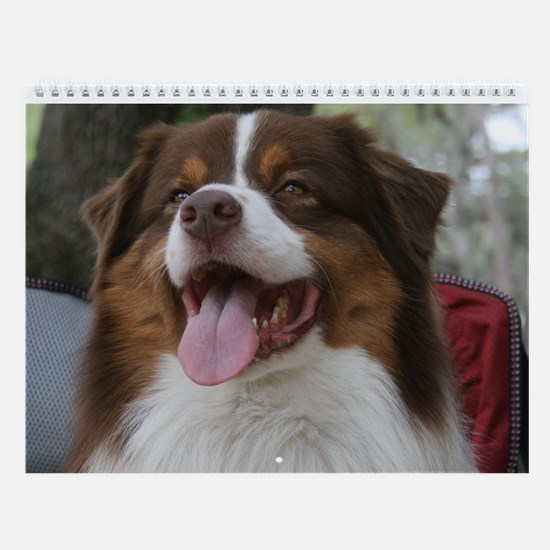 Australian Shepherd Calendar 3