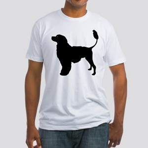 Portuguese Water Dog Fitted T-Shirt