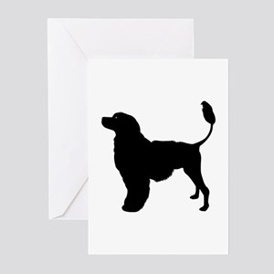 portuguese water dog greeting cards pk of 10 - Dog Greeting Cards