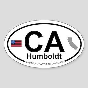 Humboldt Sticker (Oval)