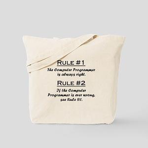 Computer Programmer Tote Bag