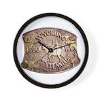 WY Centennial Wall Clock