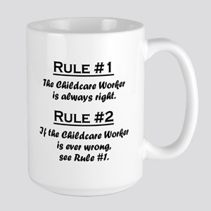 Childcare Worker Large Mug
