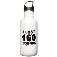 I Lost 160 Pounds! Water Bottle