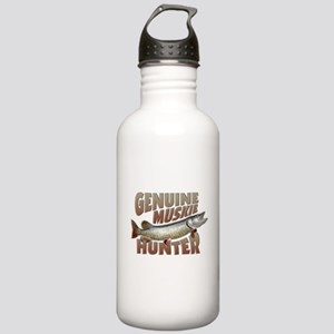 Muskie Hunter Stainless Water Bottle 1.0L