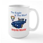 Eagle & The WooF 2 Large Mug
