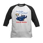 Eagle & The WooF 2 Kids Baseball Jersey