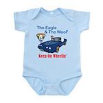 Eagle & The WooF 2 Infant Bodysuit