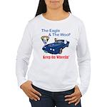 Eagle & The WooF 2 Women's Long Sleeve T-Shirt