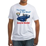 Eagle & The WooF 2 Fitted T-Shirt