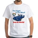 Eagle & The WooF 2 White T-Shirt
